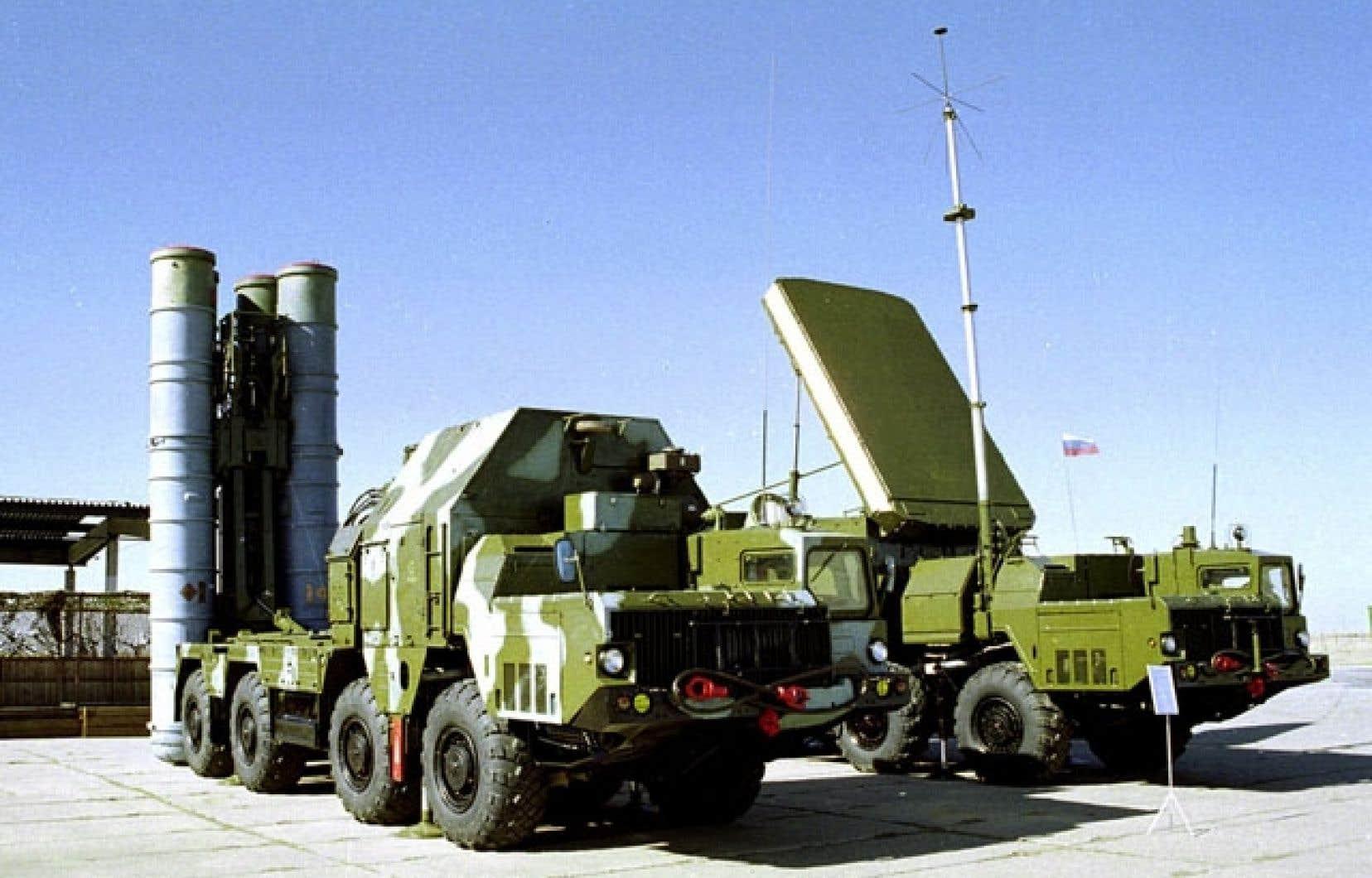 Le système anti-aérien S-300 dont Moscou veut équiper la Syrie