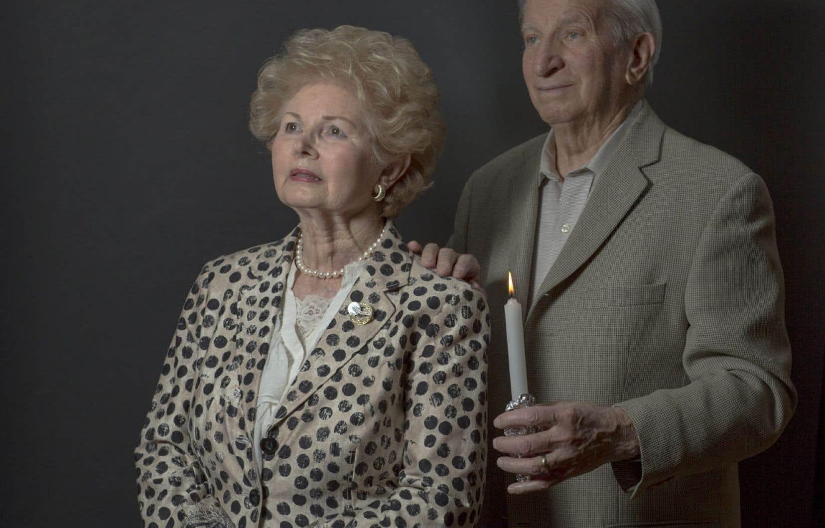 Sima Dodyck et Sam Stermer ont survécu à l'Holocauste en se terrant dans un réseau de grottes pendant près de deux ans.
