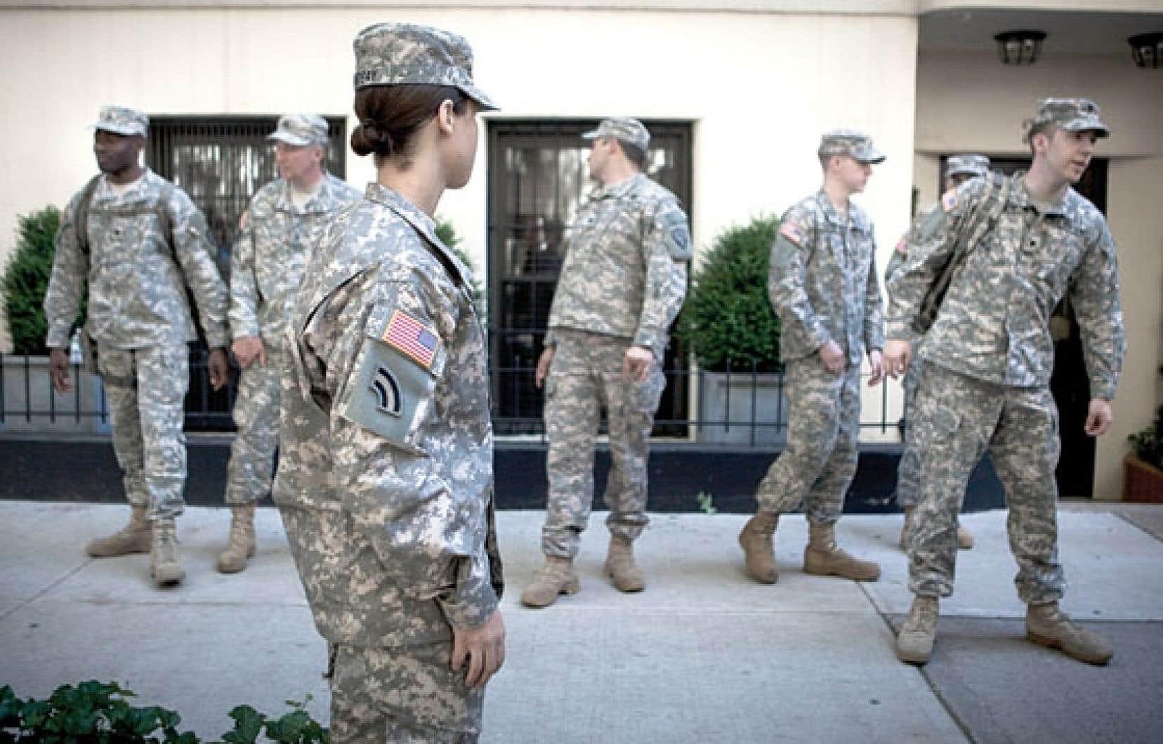 Il y aurait eu 3374 cas d'agressions sexuelles dans l'armée en 2012, un chiffre certainement sous-estimé, selon certains.