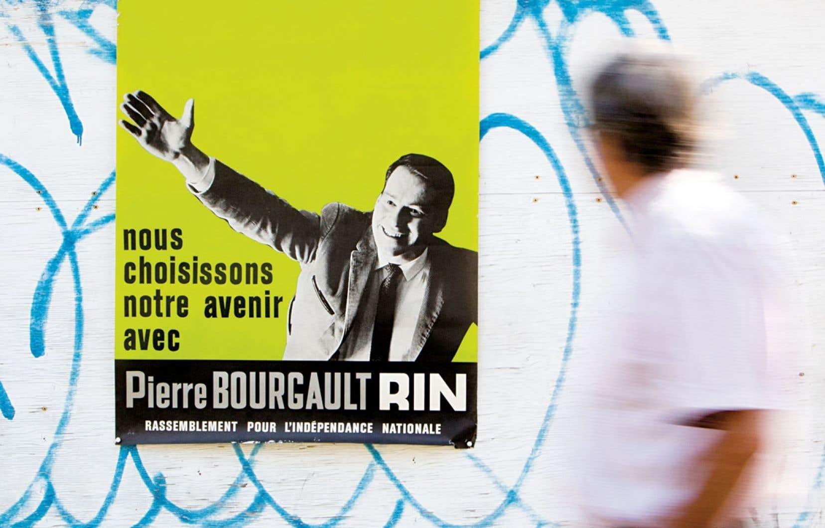Dans un extrait audio qui sera présenté par Radio-Canada, Pierre Bourgault raconte que son arrivée en politique est le fruit du hasard. « Jamais de ma vie je n'aurais imaginé faire de la politique », disait-il.