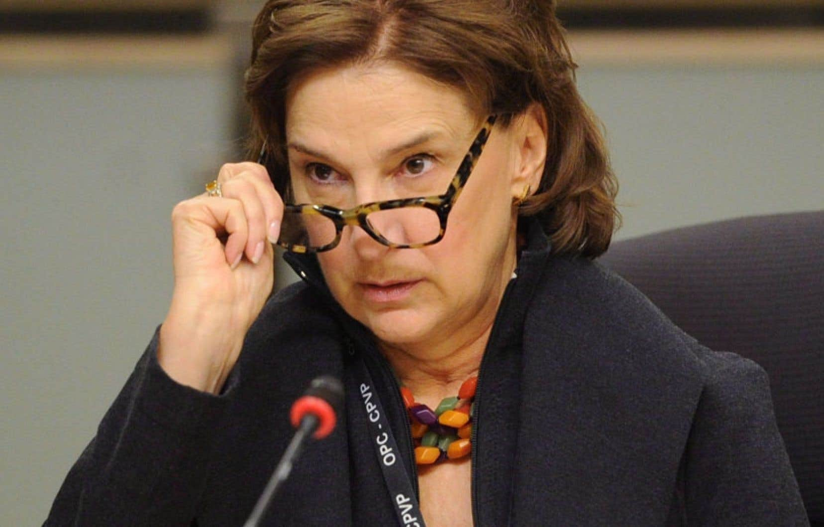 La Commissaire à la protection de la vie privée du Canada, Jennifer Stoddart