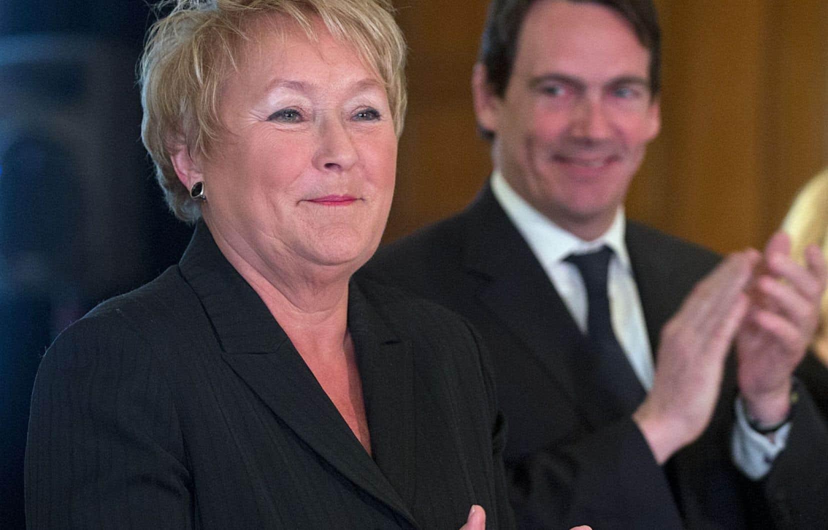 Pauline Marois s'était désolée en avril dernier du peu d'appuis reçus dans la course au déficit zéro devant les gens d'affaires venus assister à l'assemblée générale du Conseil du patronat.
