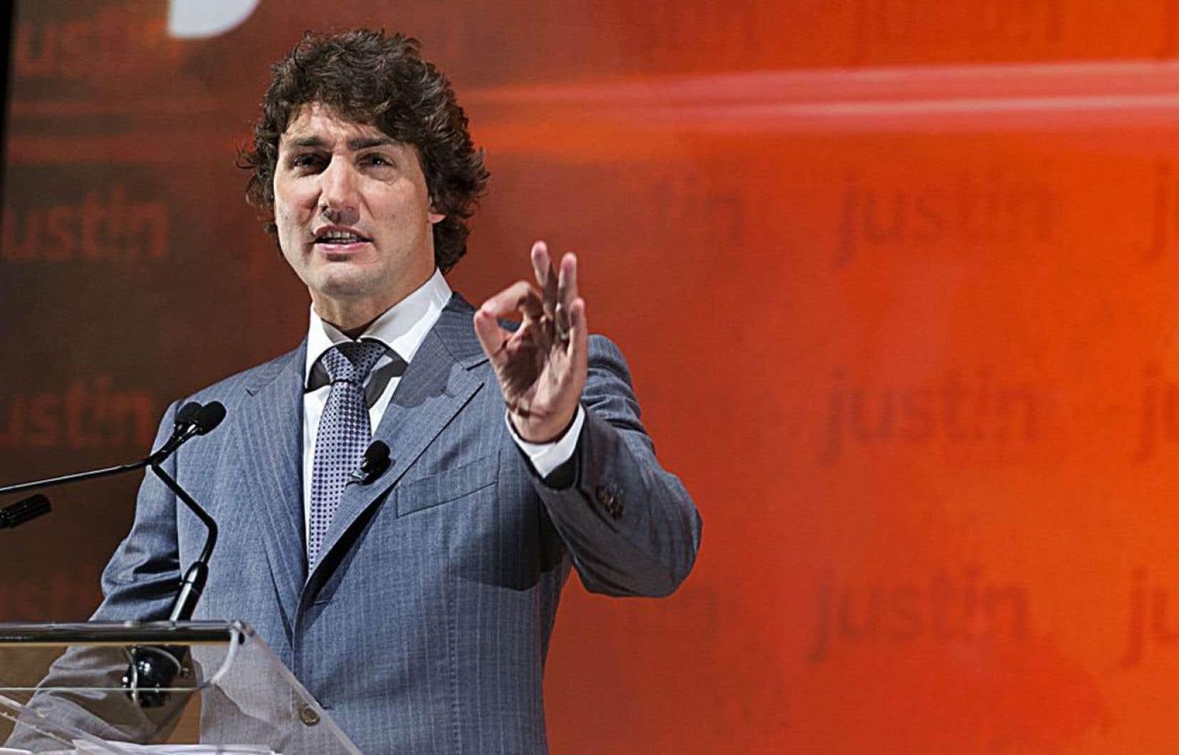 27 % des répondants au sondage ont indiqué qu'ils croyaient que Justin Trudeau ferait le meilleur premier ministre.