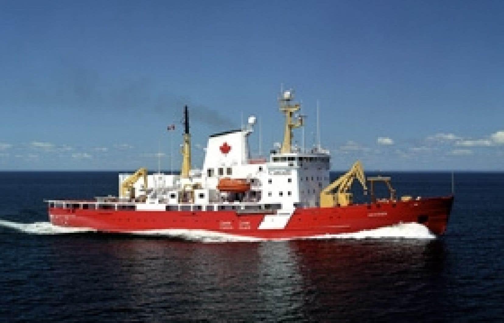 L'Amundsen devrait quitter Québec le 26 juillet pour un voyage de 7000 kilomètres.