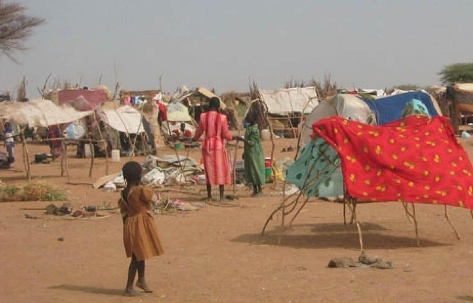 On arrive à un total de quatre millions de déracinés pendant le conflit au Soudan. Ce chiffre équivaut presque au nombre de Syriens se trouvant dans la même situation.