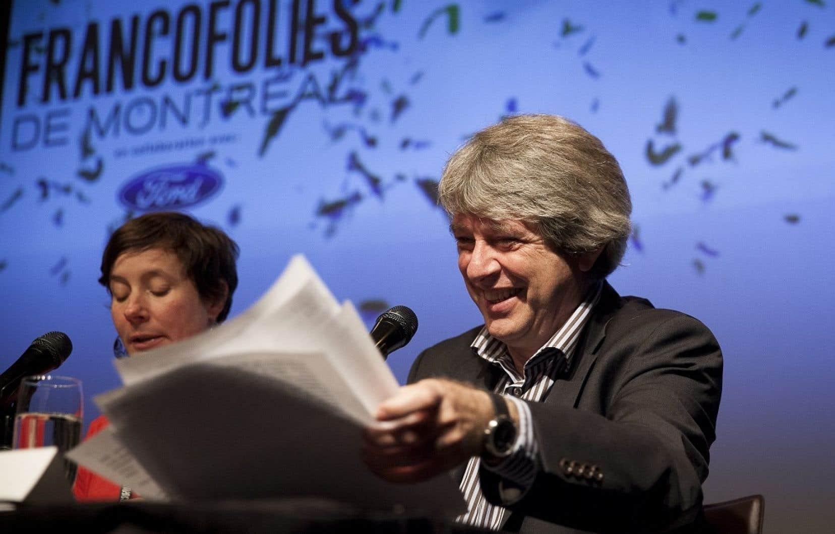 Caroline Johnson et Alain Simard