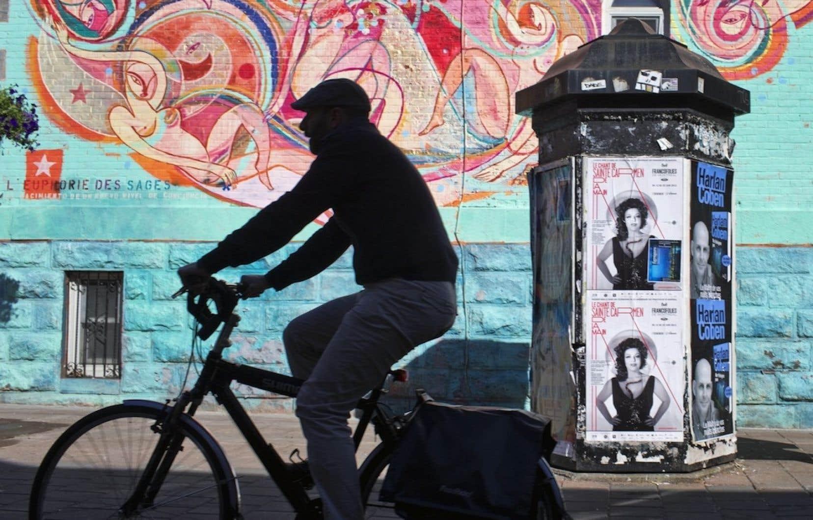 Plus il y aura d'utilisateurs de l'application Mon RésoVélo, plus la Ville aura des données précises sur l'origine et la destination des cyclistes.