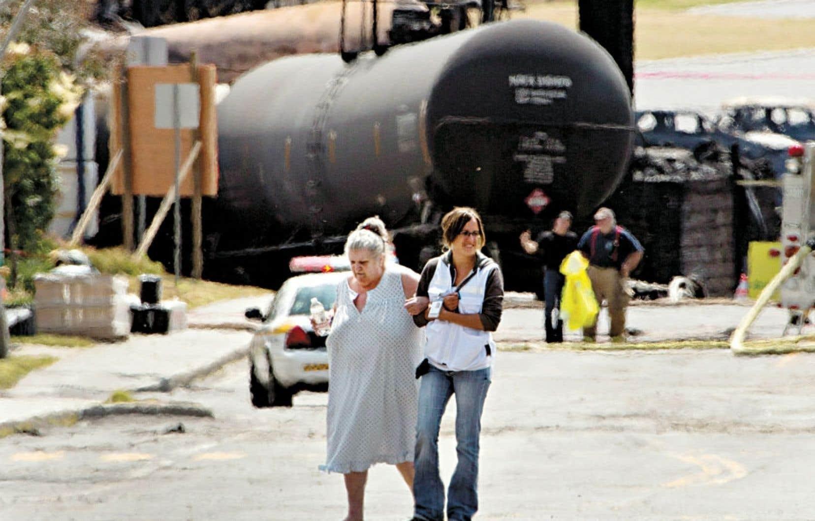 La tragédie de Lac-Mégantic rappelle le risque de vivre près d'un chemin de fer.