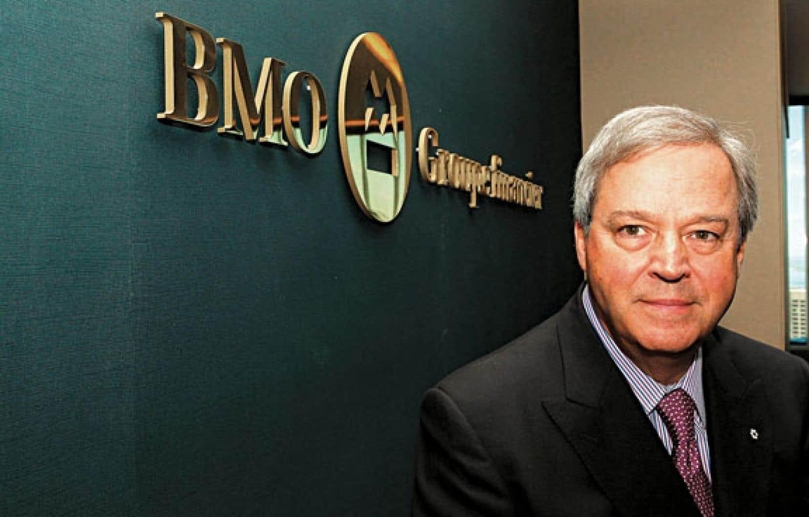 L. Jacques Ménard, notamment président de BMO Groupe financier, Québec