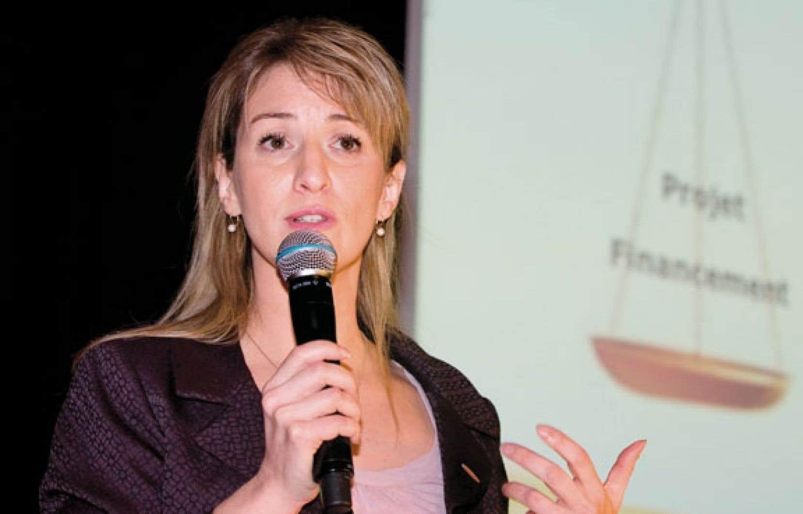 Isabelle Proulx, vice-présidente de Pétrolia