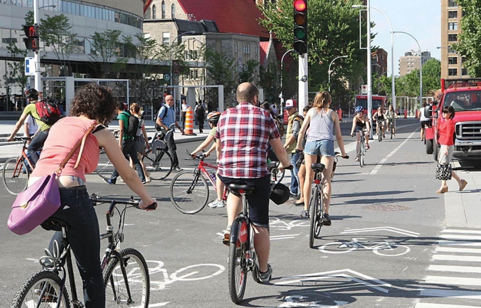 Le réseau cyclable de Montréal s'est beaucoup développé, ces dernières années, et la métropole est aujourd'hui considérée comme la meilleure ville cycliste en Amérique du Nord.