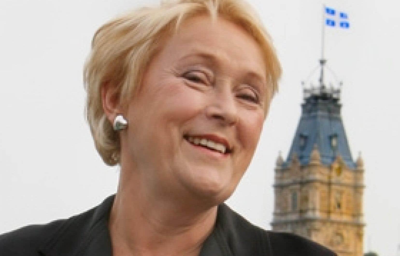 «Nos gestes doivent s'inscrire dans la nouvelle réalité sociale et économique», estime Pauline Marois.