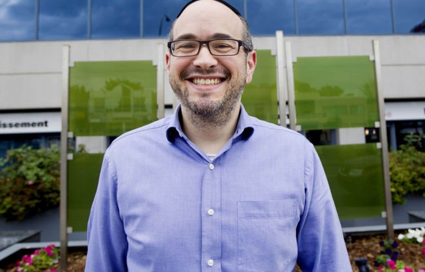 Lionel Perez est le maire par intérim de l'arrondissement montréalais de Côte-des-Neiges-Notre-Dame-de-Grâce.