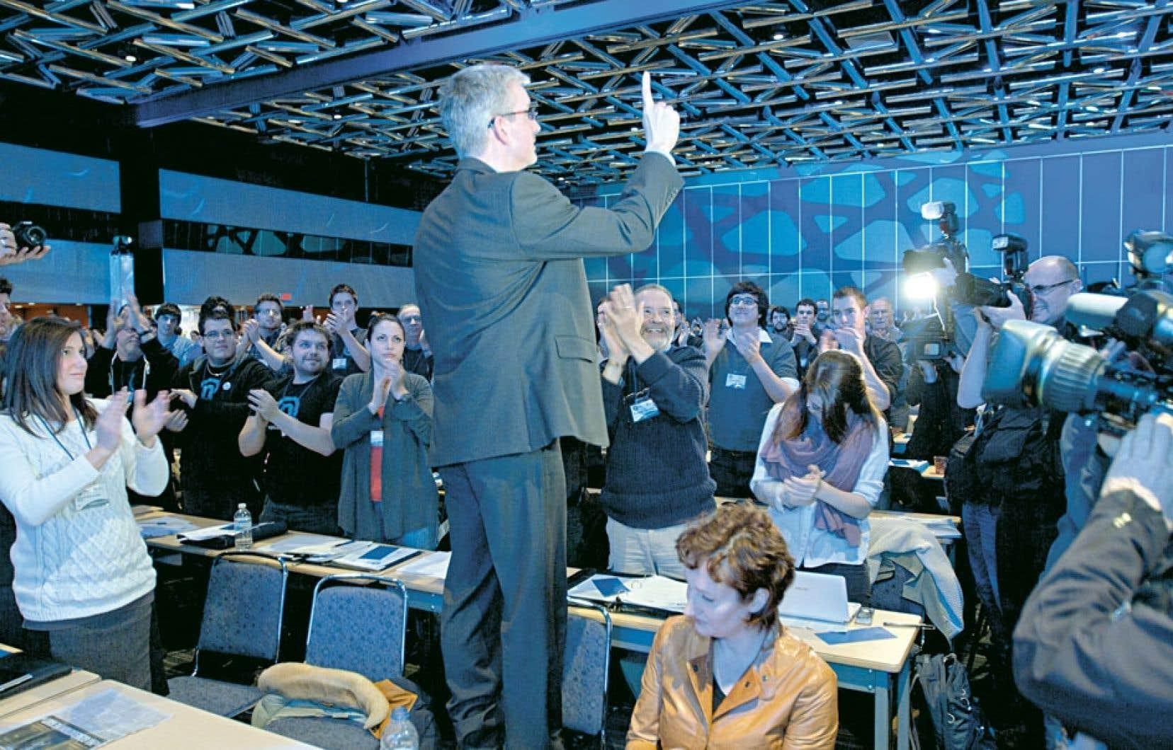 La course à la succession de Jean-Martin Aussant à la tête d'Option nationale est lancée.