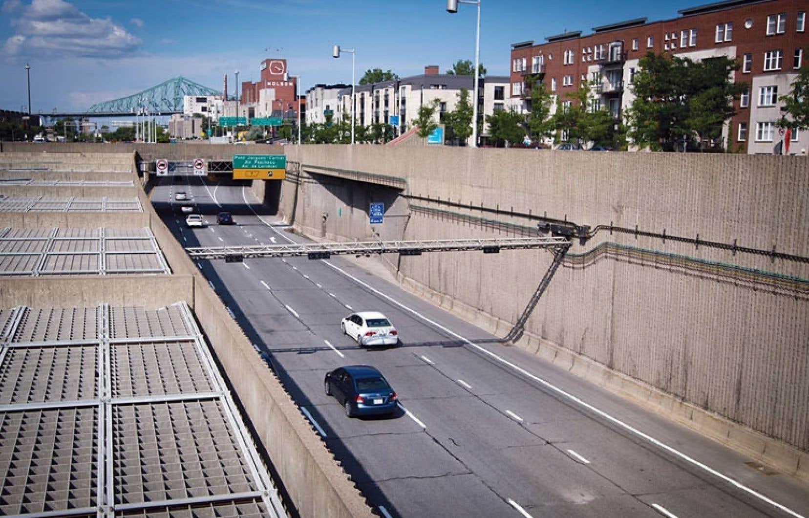 Le candidat à la mairie de Montréal, Richard Bergeron, veut recouvrir l'autoroute Ville-Marie.
