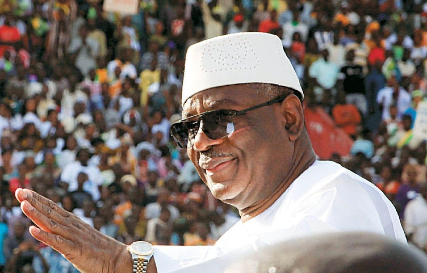 L'ancien premier ministre, Ibrahim Boubacar Keïta