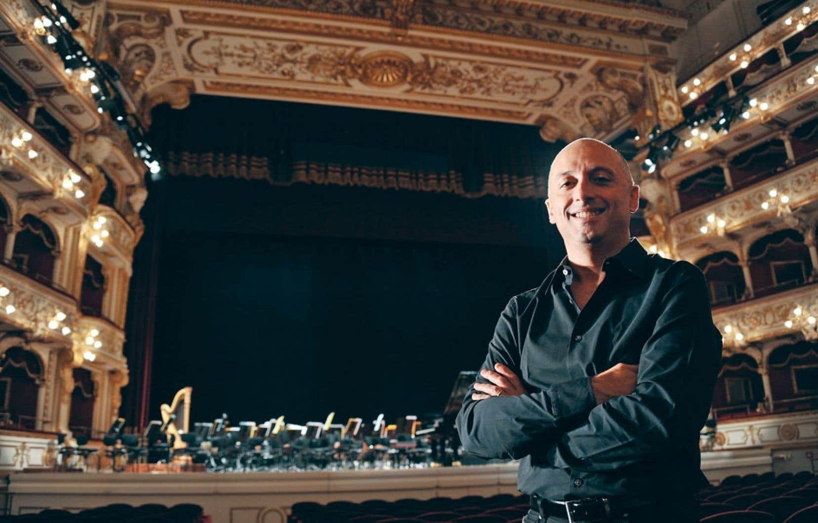 Benedetto Lupo a joué de façon prodigieuse des morceaux de Schumann et Brahms lors de son concert au Festival d'Orford.