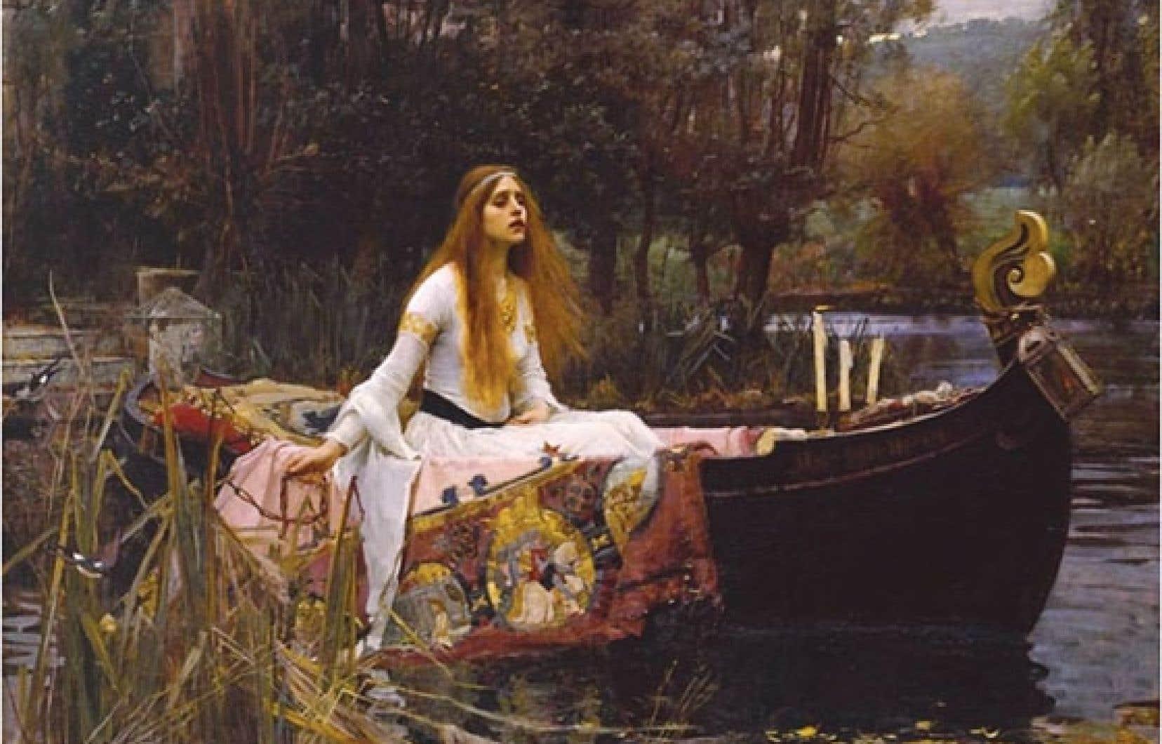 Le coup de cœur des citoyens est allé à The Lady of Shalott(1888), de John William Waterhouse, tableau qui tire son inspiration du poème du même nom d'Alfred Tennyson.
