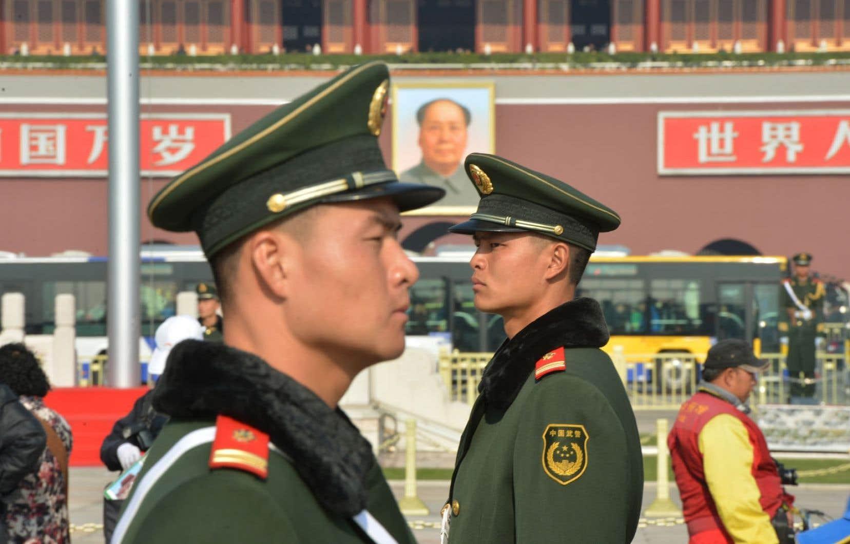 Place Tiananmen. Qu'il s'agisse du PIB ou de l'inflation, les chiffres des officiels chinois doivent être pris avec un grain de sel.