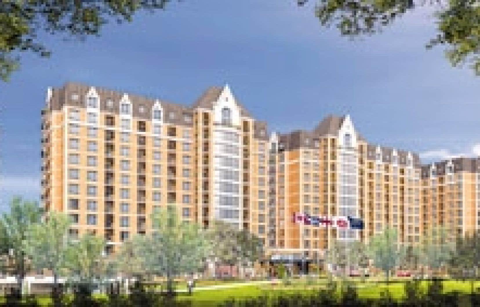Construit au coût de 140 millions de dollars, le Lux Gouverneur comprendra au total plus de 900 appartements, répartis dans cinq immeubles de 12 étages.