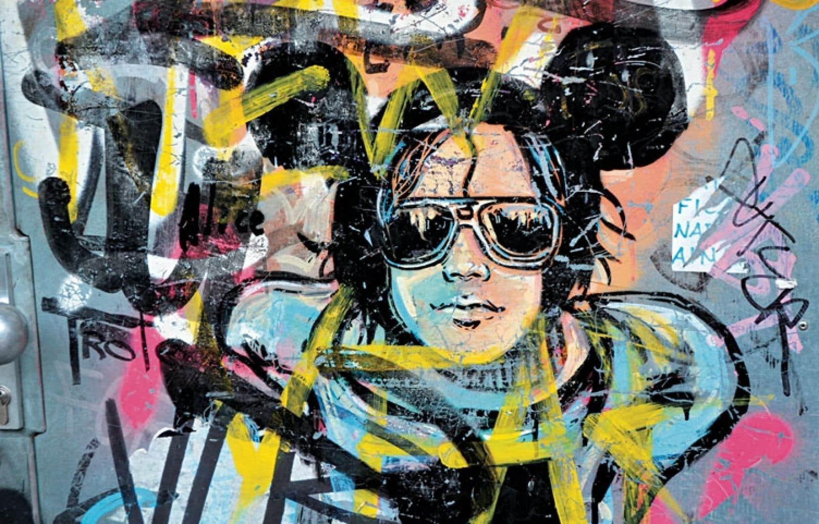 Au cours de ses séjours à Berlin, l'artiste italienne Alice Pasquini a laissé sa marque un peu partout sur les murs de la ville.