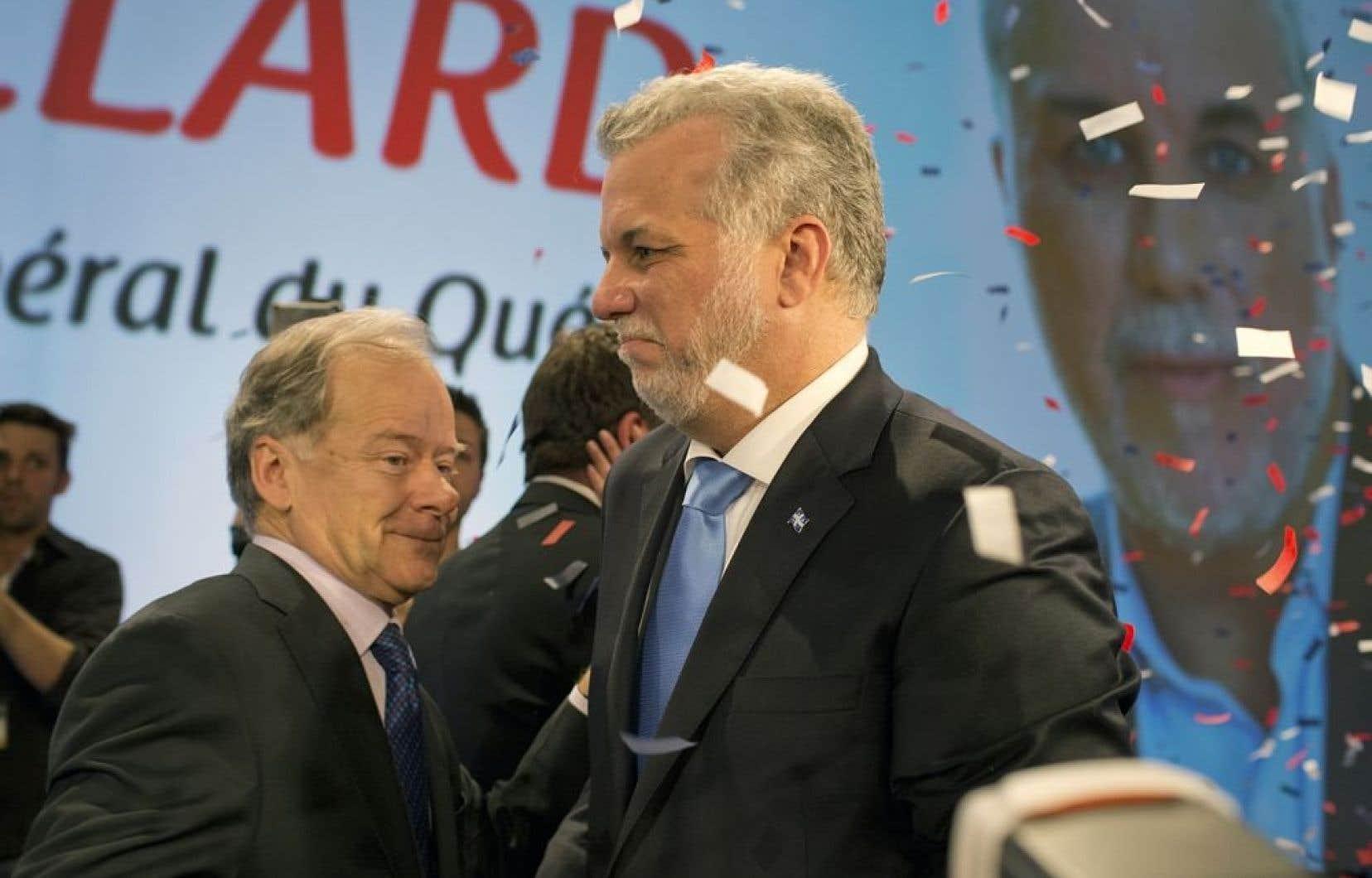 Dans la course à la direction du Parti libéral, qui a couronné Philippe Couillard le 17 mars dernier, Raymond Bachand a terminé dernier parmi les trois candidats, avec moins de 20 % des appuis des délégués.