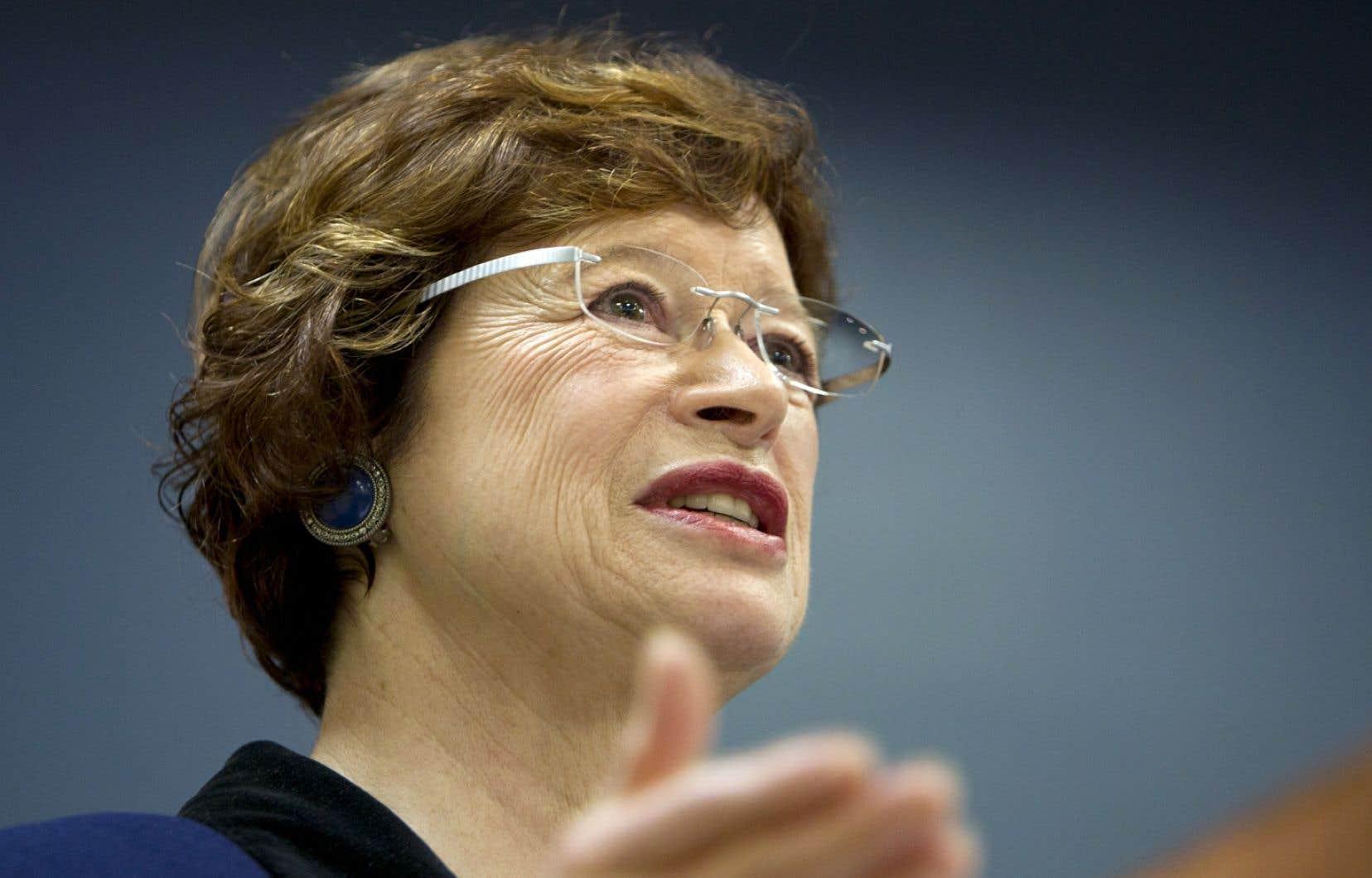 En sortant du conseil des ministres, mercredi, la ministre de l'Éducation, Marie Malavoy, a affirmé que les propos de Pauline Marois ne constituent en rien une «rebuffade» pour elle.