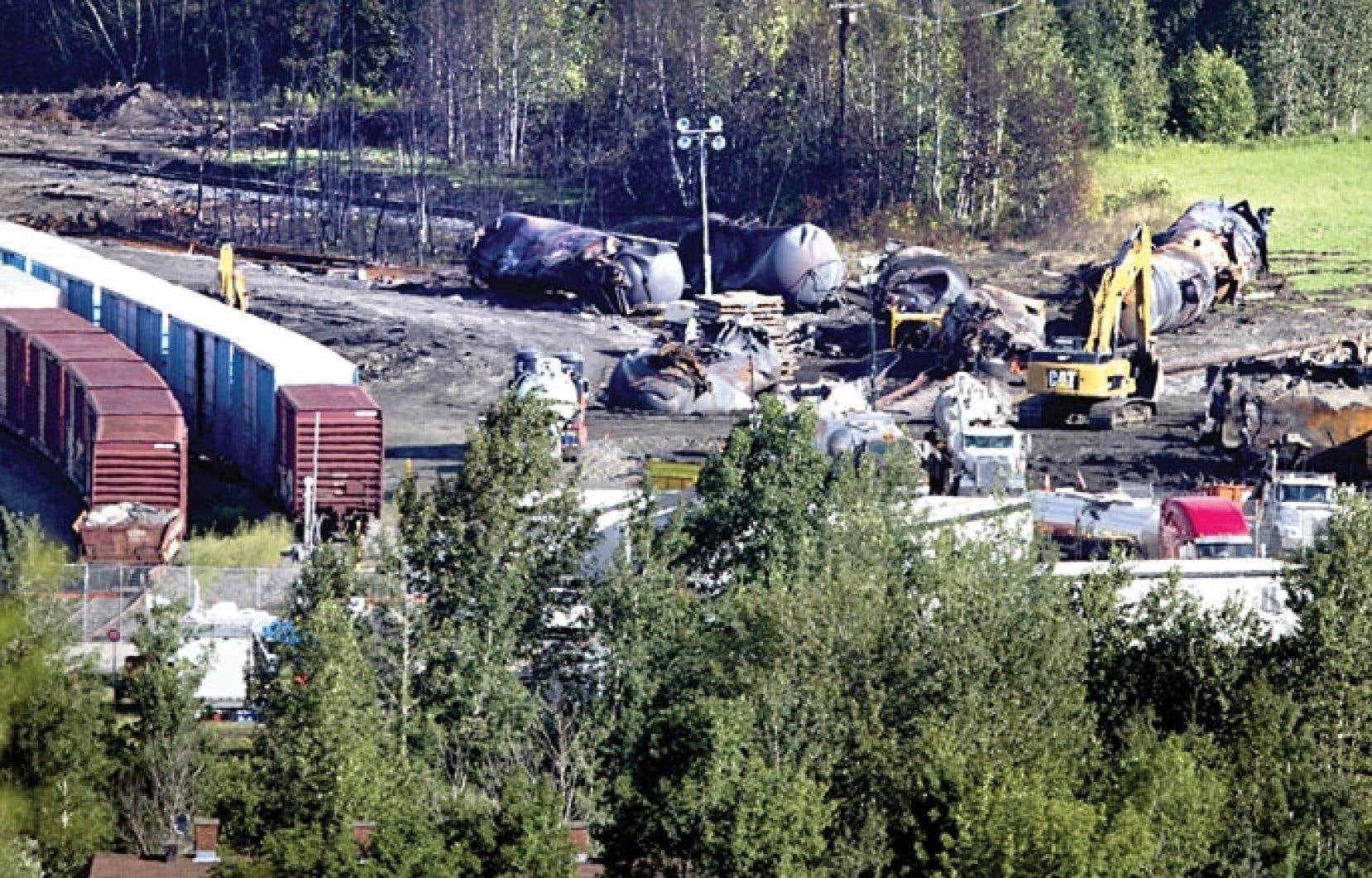 Le déraillement du convoi de la Montreal, Maine and Atlantic Railway en juillet dernier, à Lac-Mégantic, a entraîné la mort de 47 personnes.