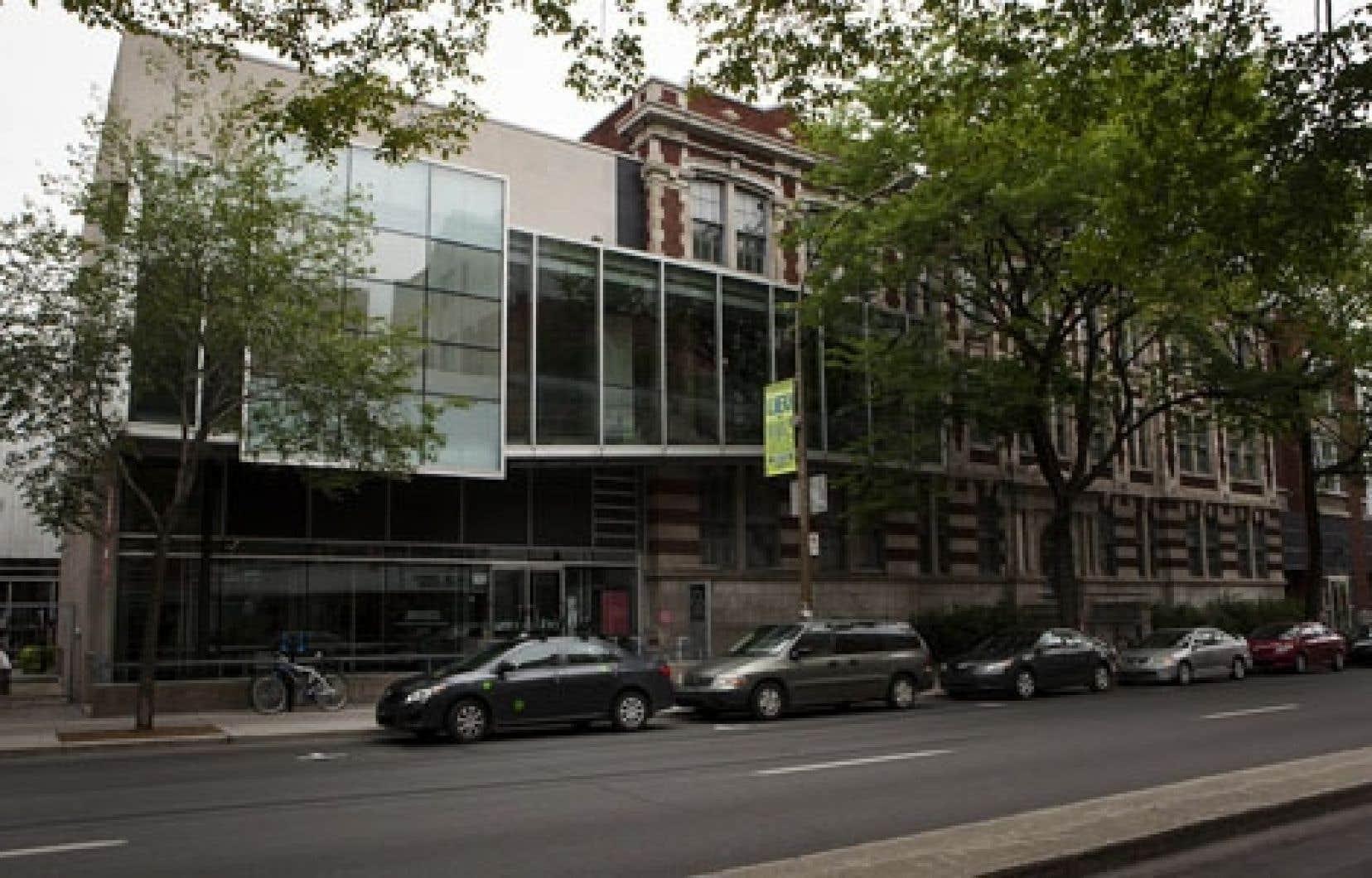 Le bâtiment de la Cinémathèque québécoise