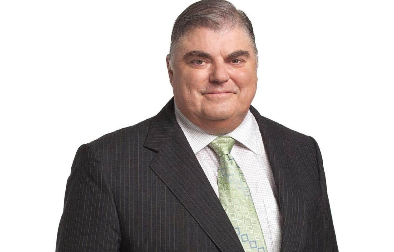 Le député de Robert-Baldwin, Pierre Marsan