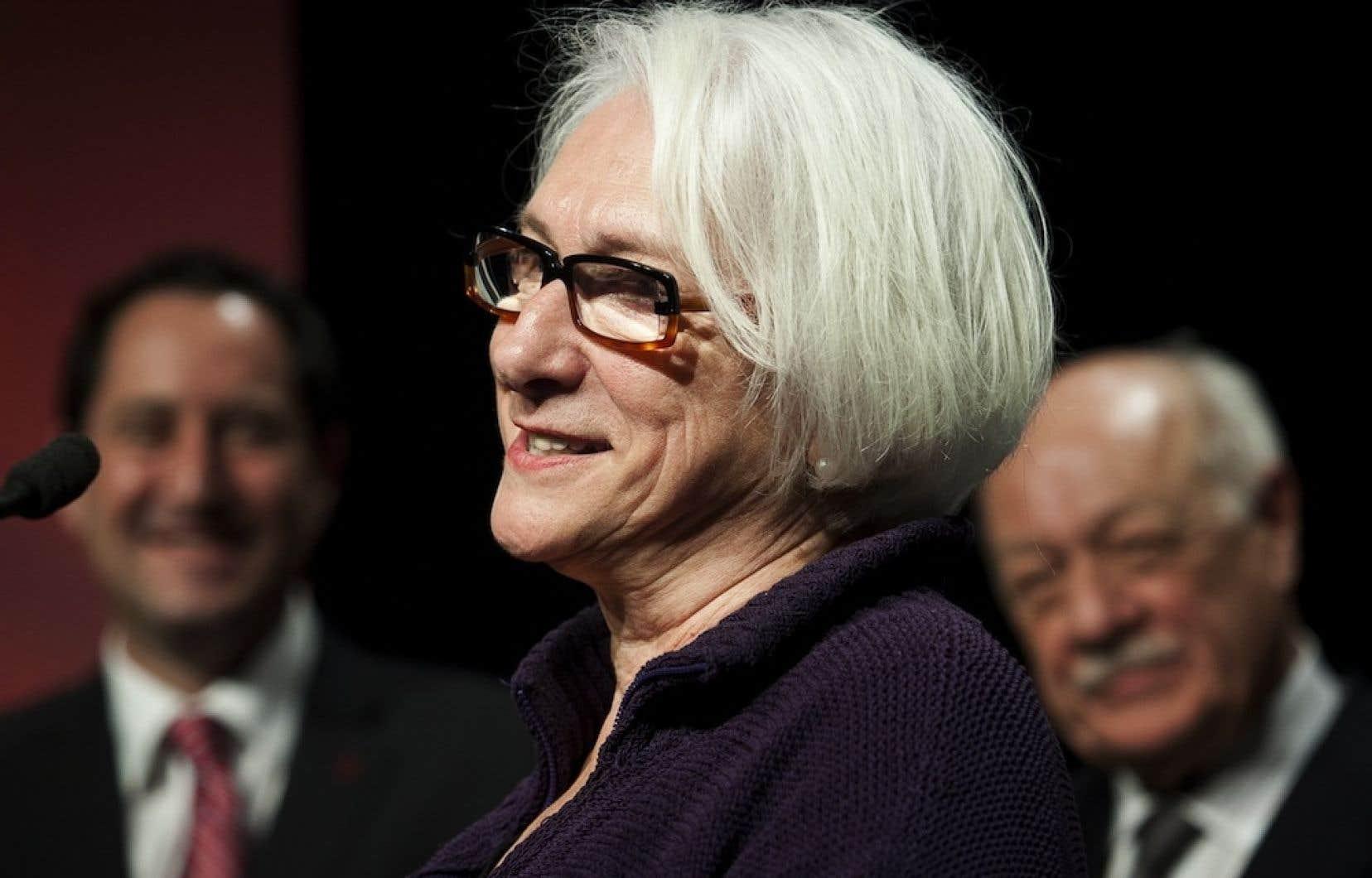 Marie-Hélène Falcon a annoncé qu'elle cédera les rênes du FTA, qu'elle a cofondé en 1982.