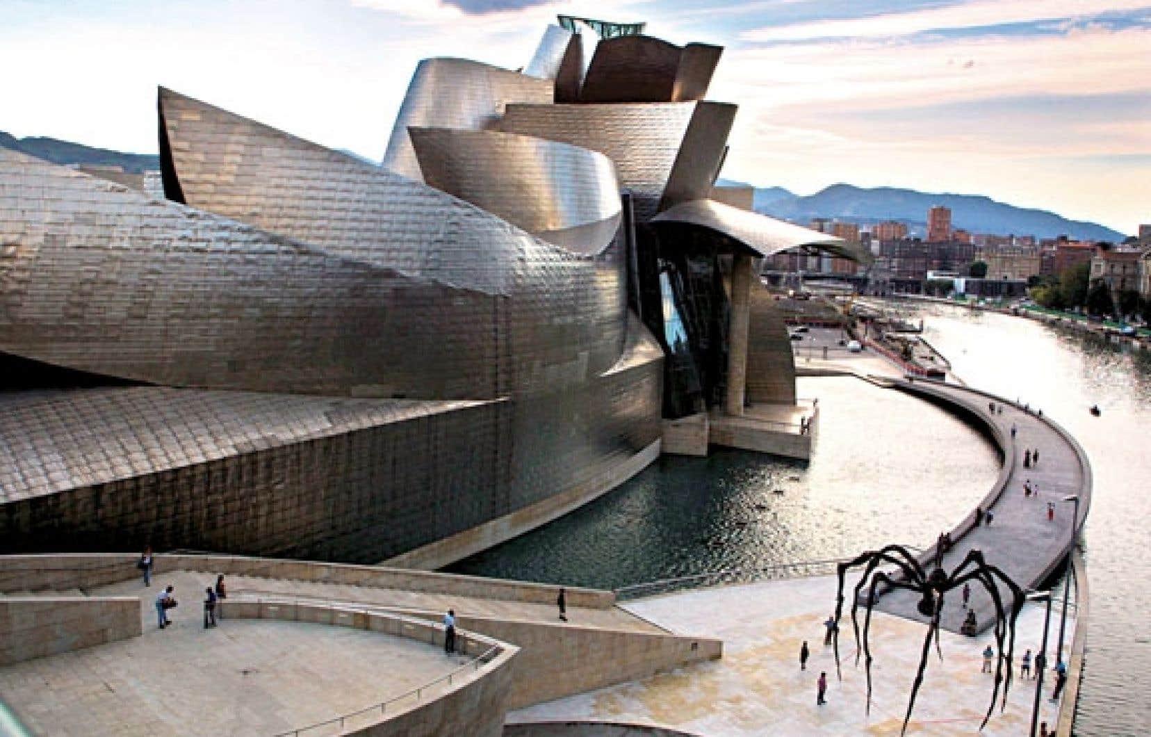 Le Musée Guggenheim, à Bilbao