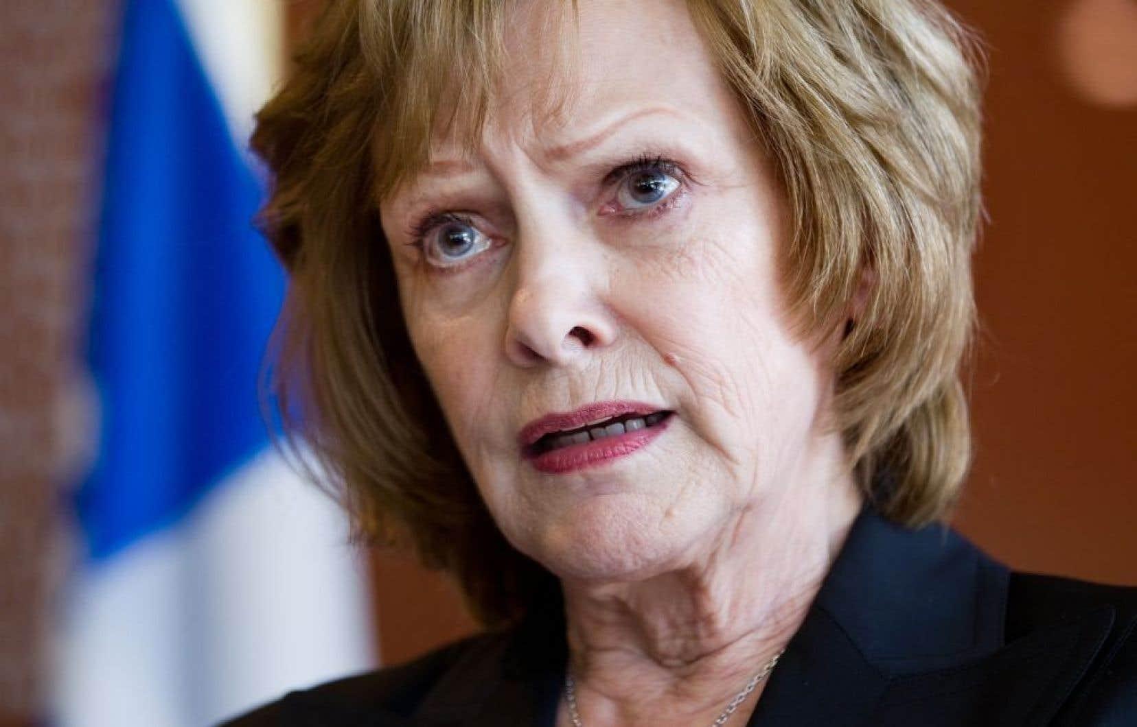 L'ex-députée péquiste Lisette Lapointe