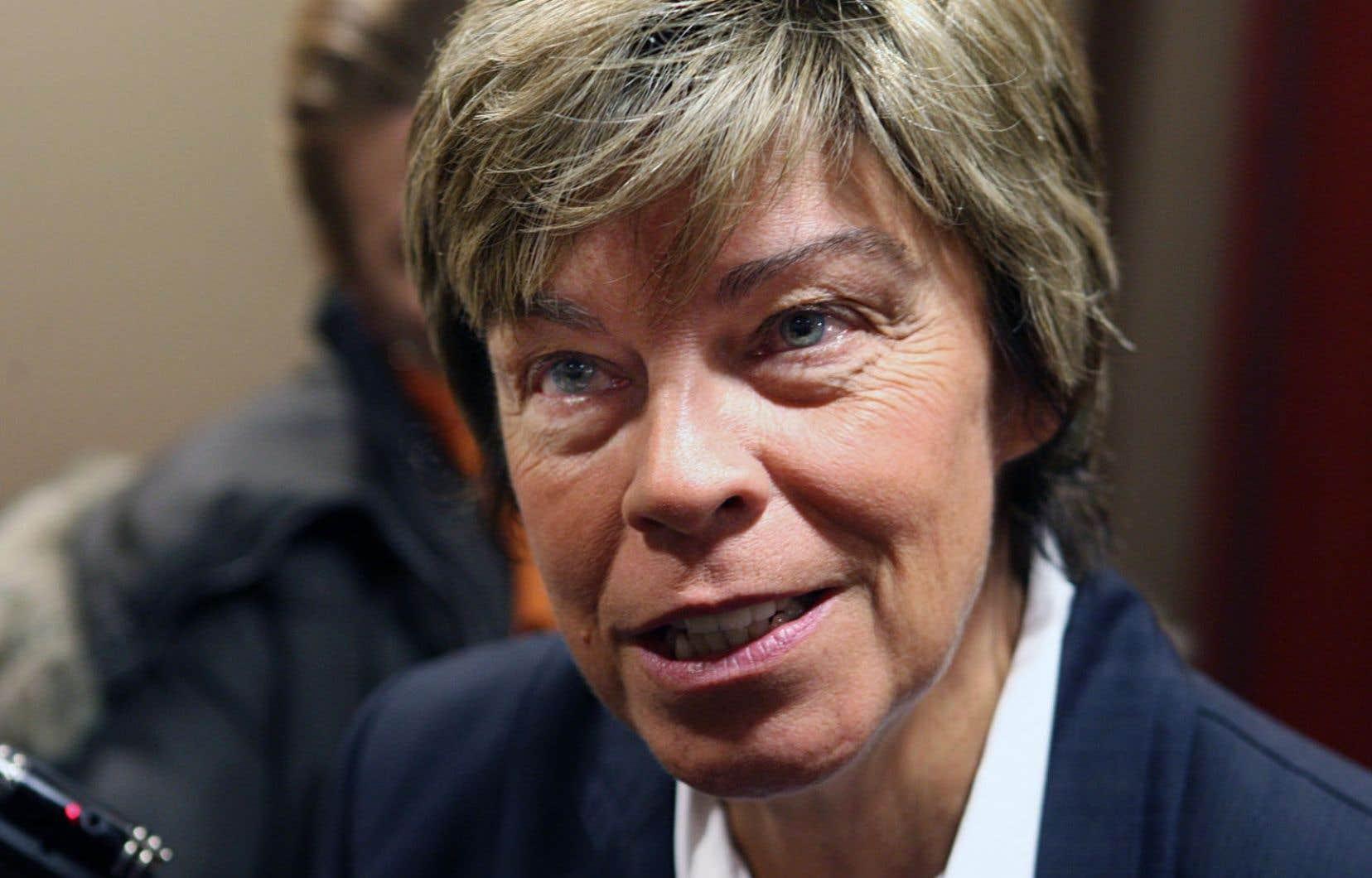 Il y a un contrepoids à faire par rapport à la Fédération des femmes du Québec, selon Louise Beaudoin