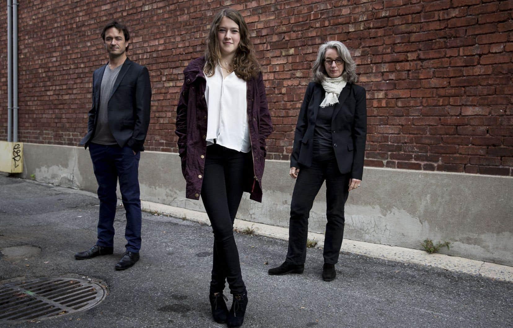 Le dernier long métrage de Catherine Martin (à droite) met en vedette Sébastien Ricard et Ariane Legault.