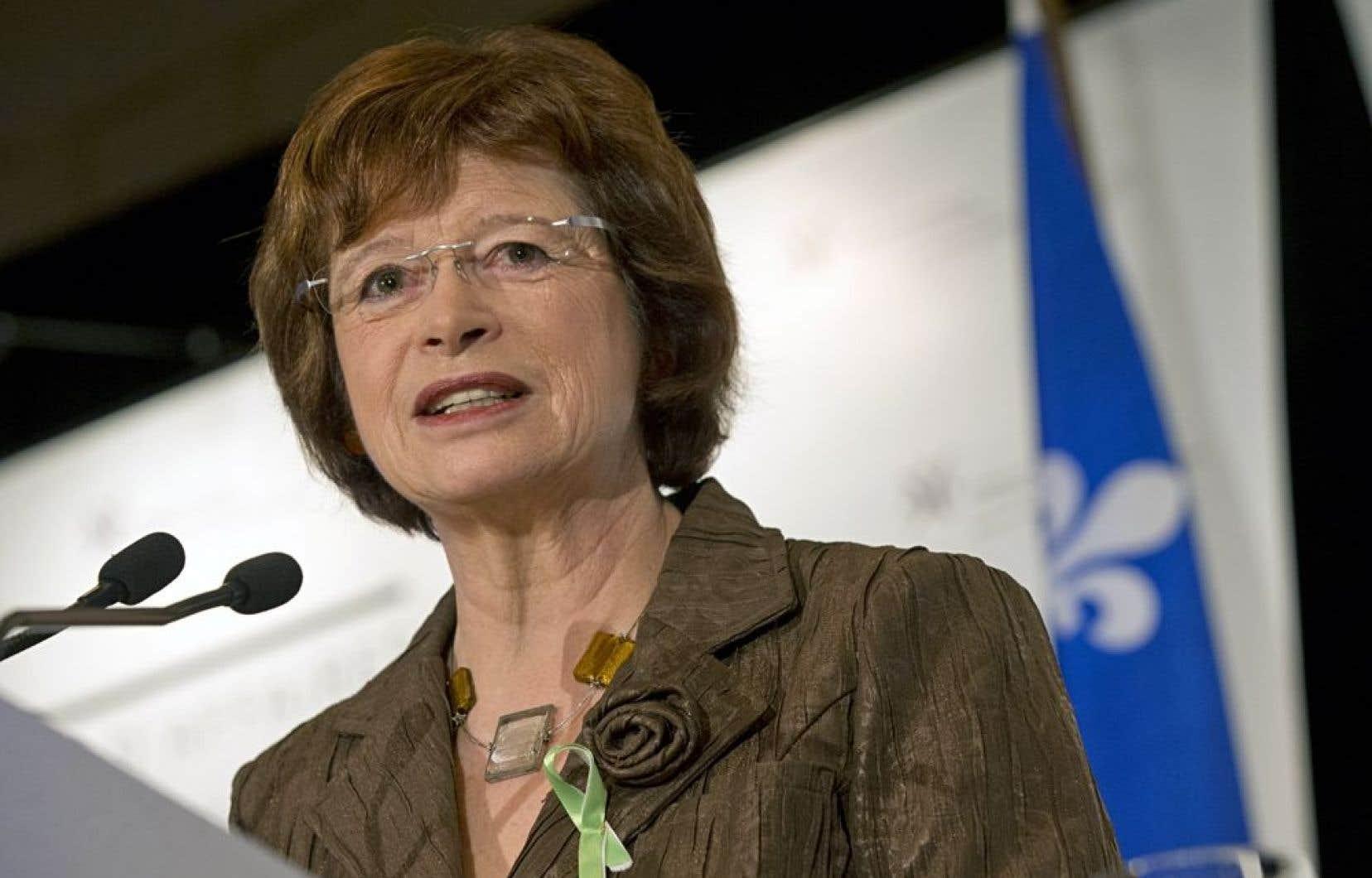 La ministre de l'Éducation, Marie Malavoy, a signifié sans détour, jeudi, sa volonté de priver les commissions scolaires de leur pouvoir de «perception directe».