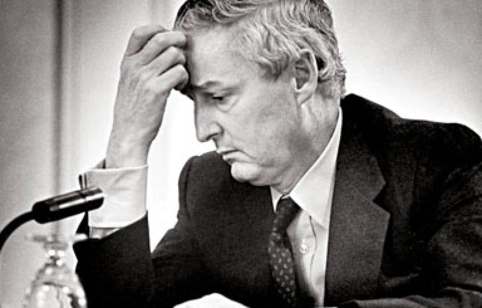 Paul Desmarais en avril 1981. L'homme d'affaires est décédé mercredi dernier.