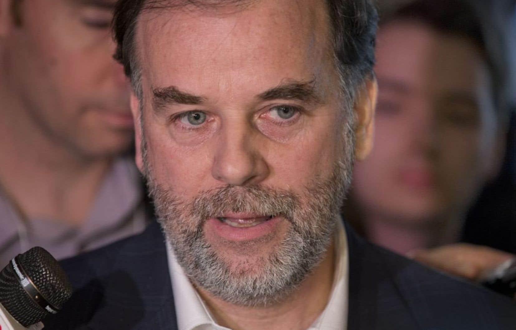 Pierre Duchesne, ministre de l'Enseignement supérieur