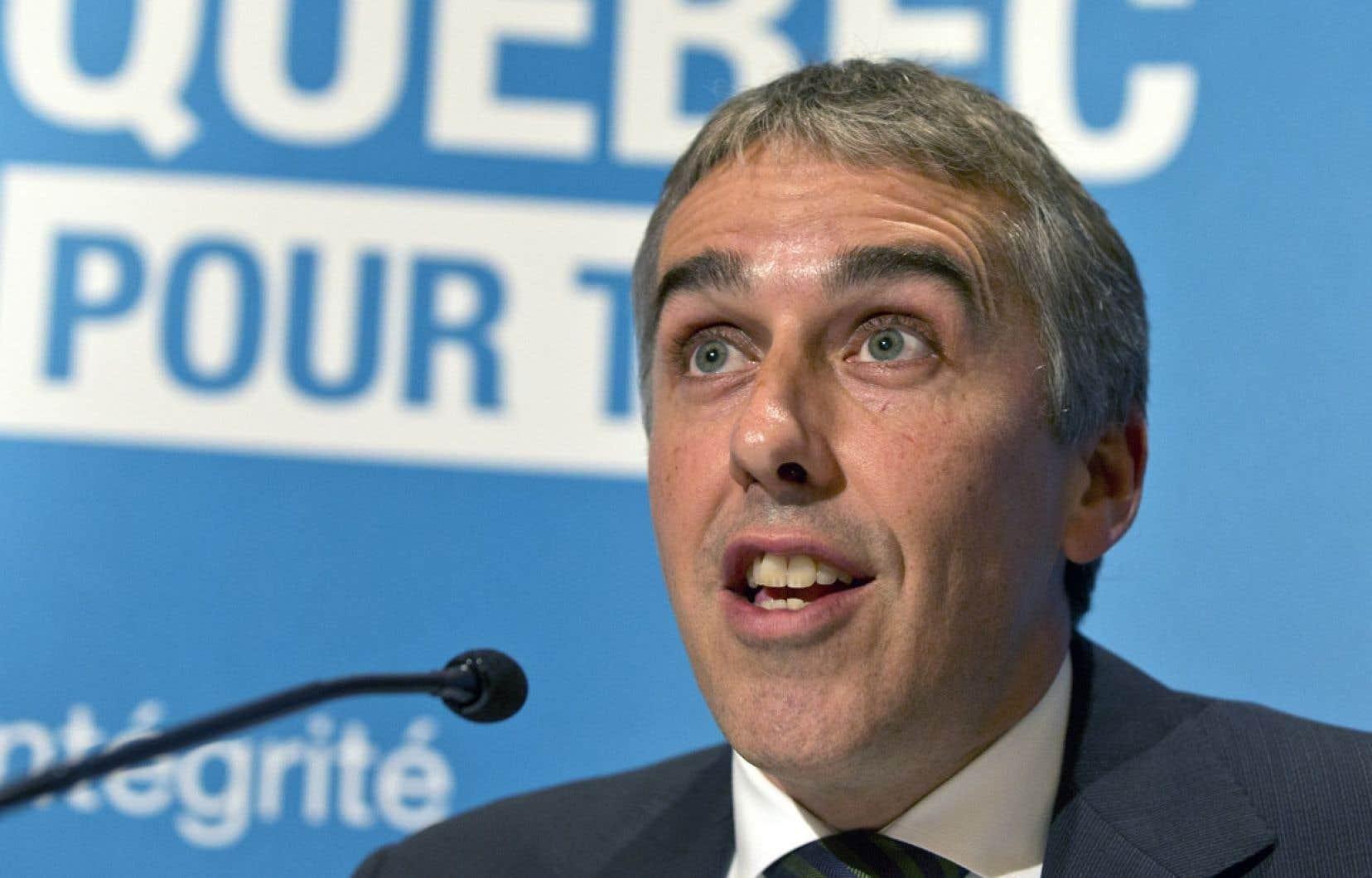 L'Accord économique et commercial global entraînera une hausse des exportations québécoises vers les 28 pays de l'Union européenne, selon le ministre Nicolas Marceau.