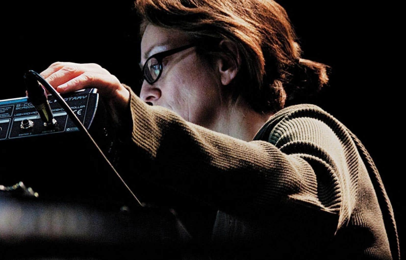 La compositrice Monique Jean présentera jeudi soir l'œuvre sonore T.A.G. dans le cadre d'Akousma X.