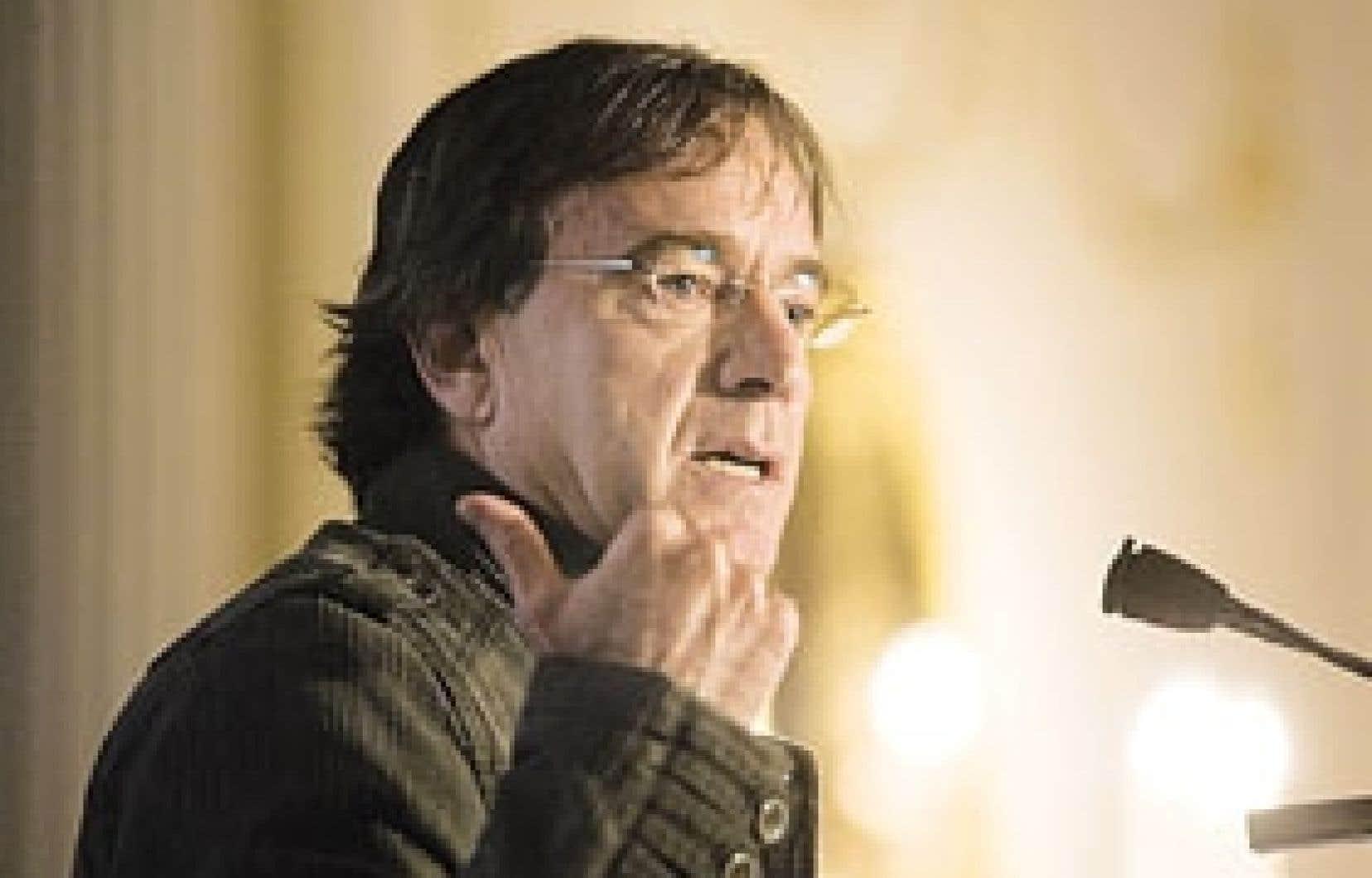 Daniel Lamarre est président et chef de la direction du Cirque du Soleil.