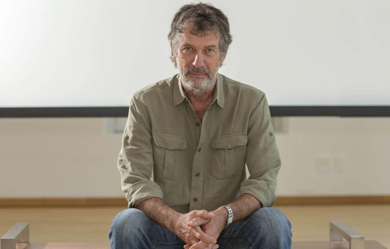 Le réalisateur Robert Morin a été récompensé pour l'ensemble de son oeuvre cinématographique.