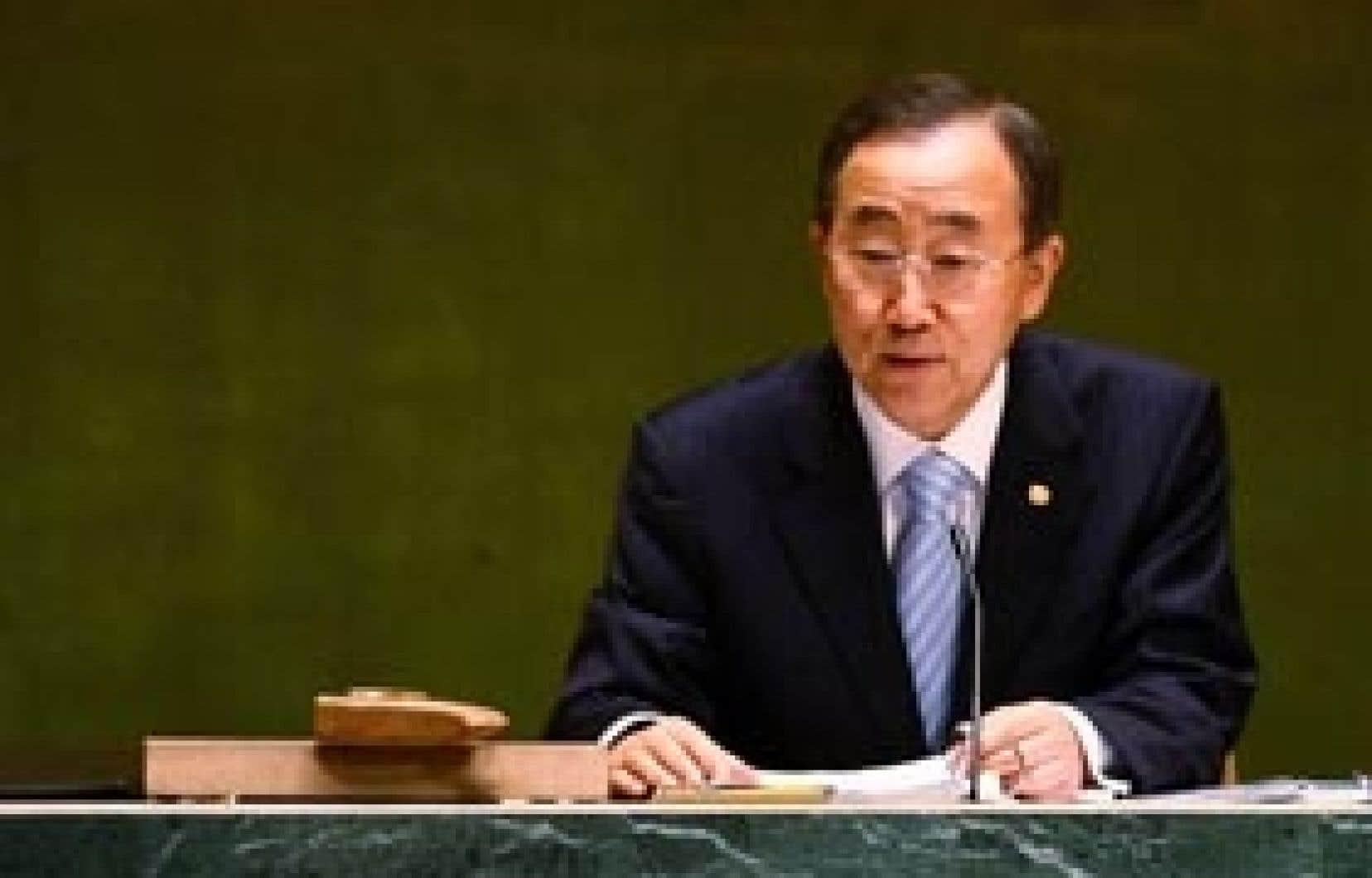 «Les institutions mondiales créées il y a plusieurs générations doivent être rendues plus responsables, plus représentatives et plus efficaces», a déclaré hier le secrétaire général de l'ONU, Ban Ki-moon.