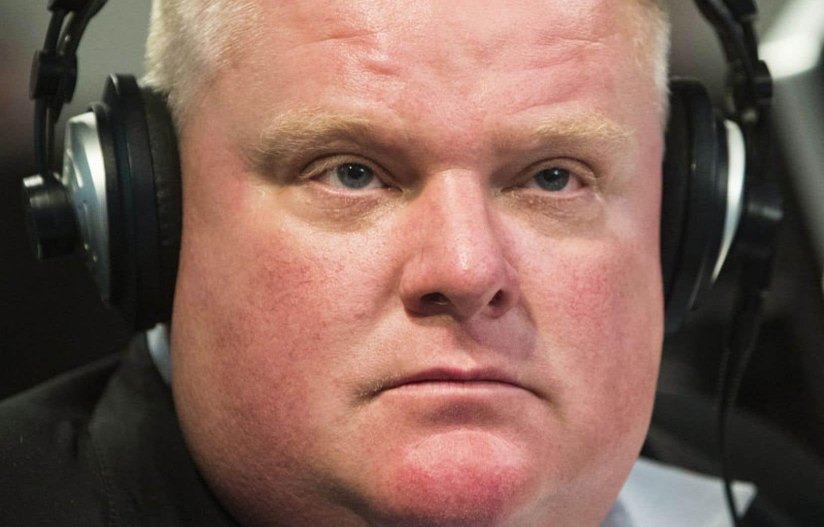 Dimanche, lors de son émission de radio dominicale, le maire de Toronto a reconnu avoir commis des erreurs dans sa vie.