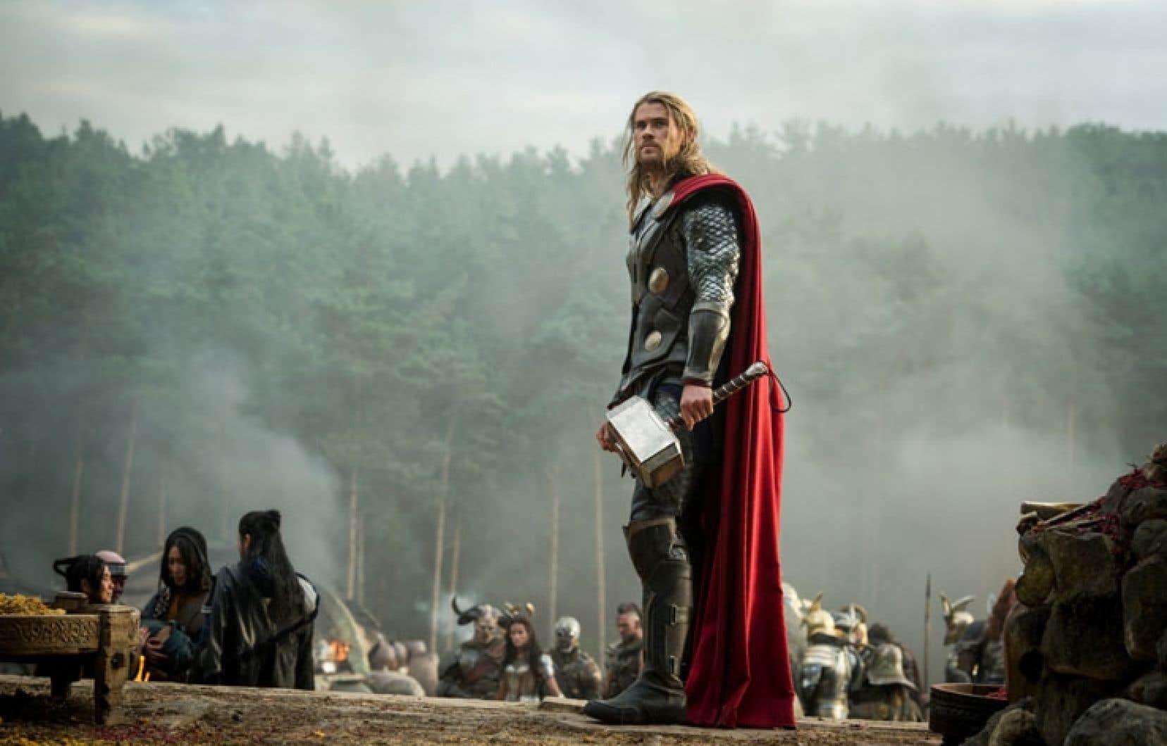 L'acteur d'origine australienne Chris Hemsworth incarne Thor.