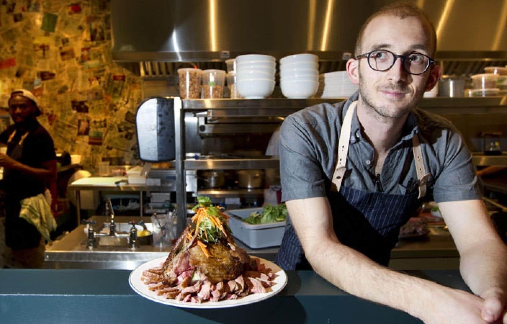 Aaron Langille, le jeune chef qui officiait au Café Sardine, s'est installé dans une nouvelle cuisine du Chinatown avec Patrick Dumont, ancien de l'hôtel W.