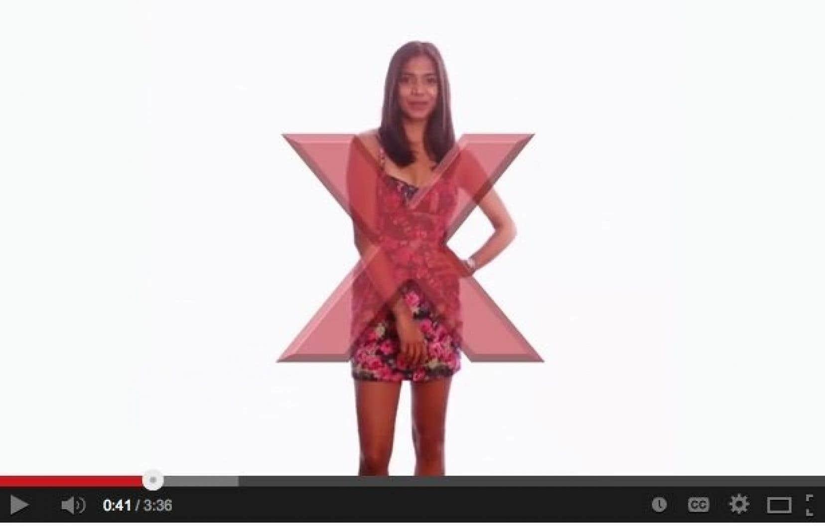 La vidéo s'intitule «It's Your Fault» et rit – noir – au sujet du viol.