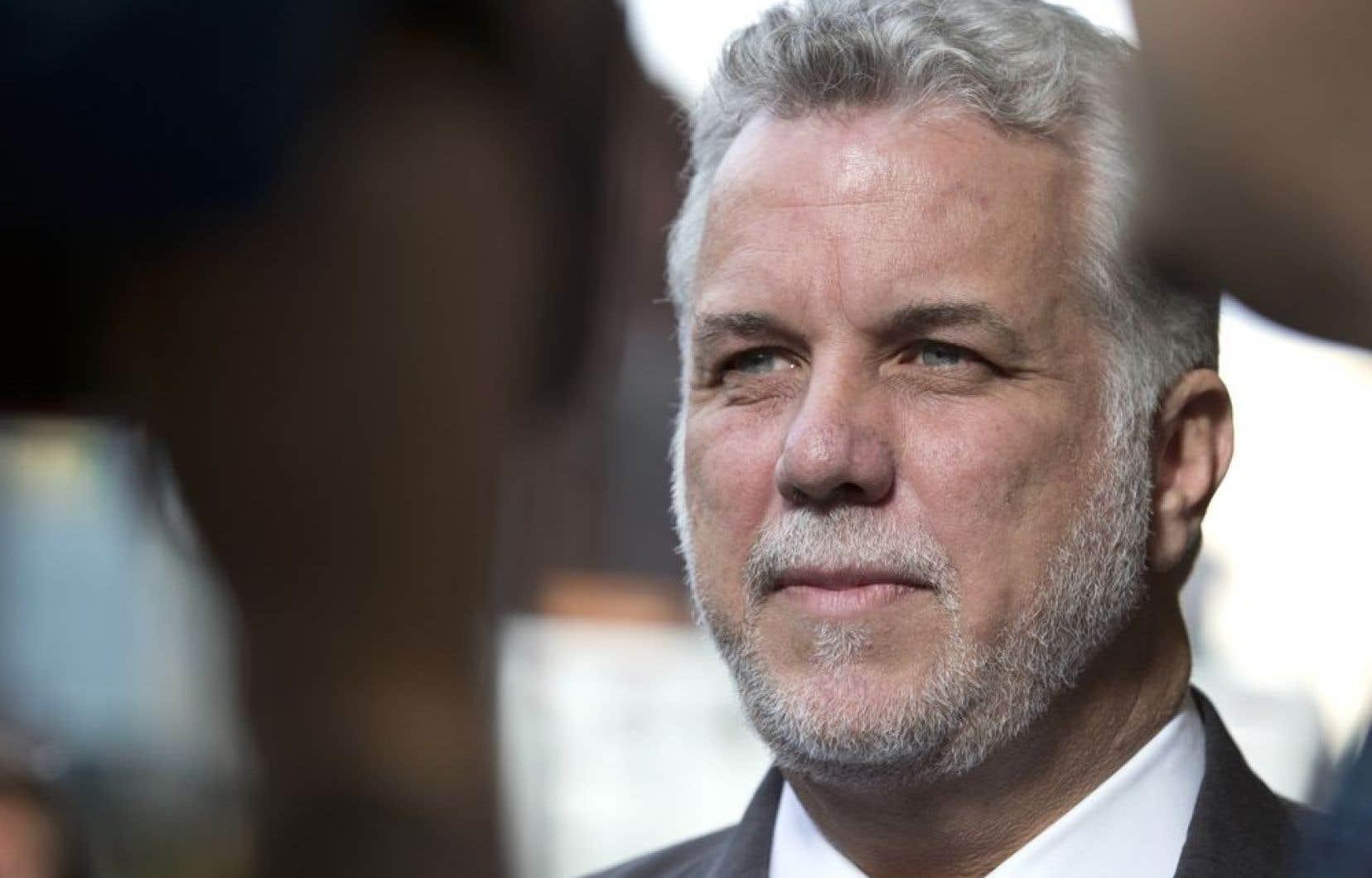 Le chef du Parti libéral du Québec, Philippe Couillard, a confirmé vendredi la rumeur qui circulait depuis quelques jours.