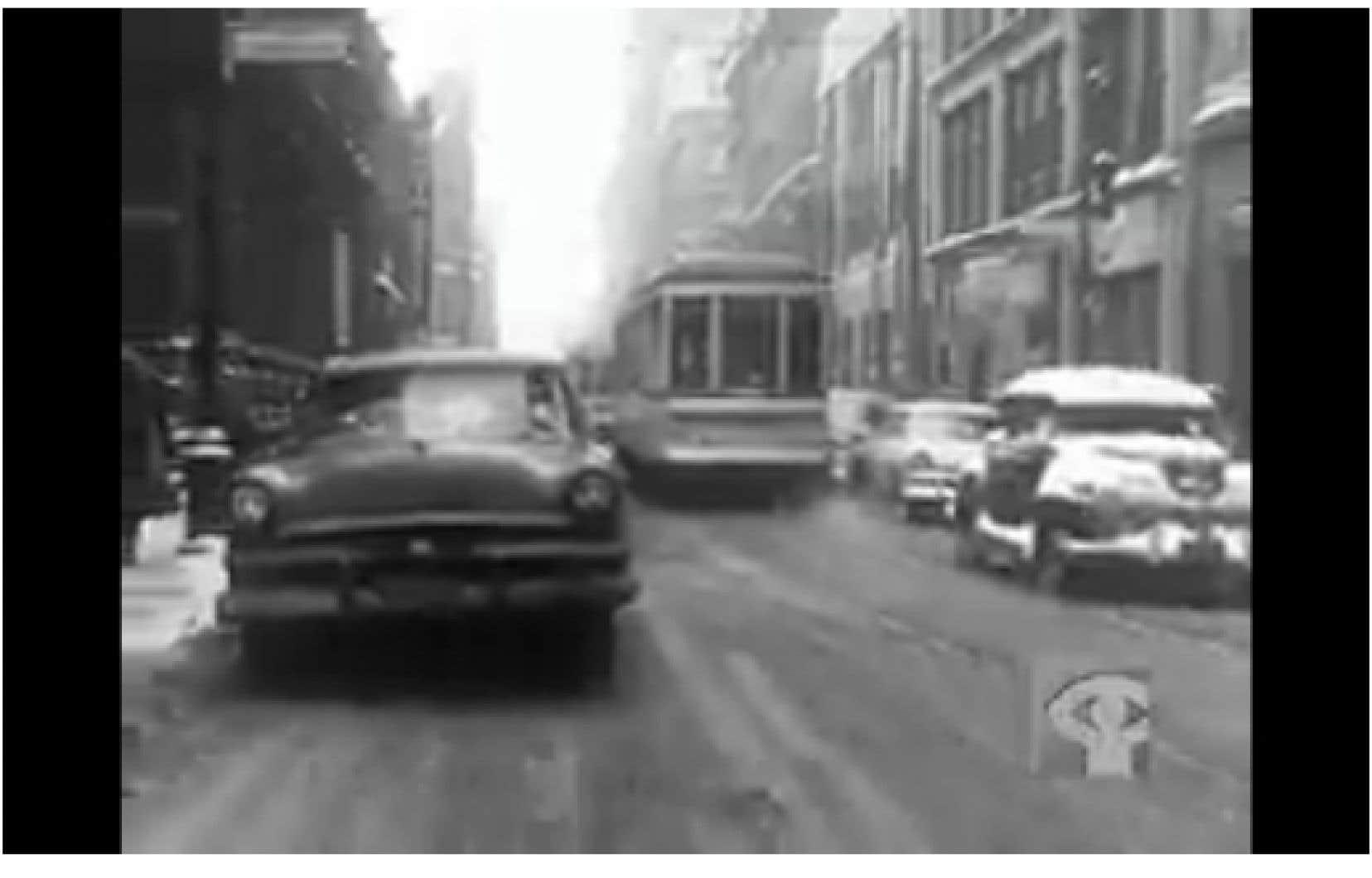 En 1955, l'heure était aux larges boulevards et aux autoroutes «modernes».