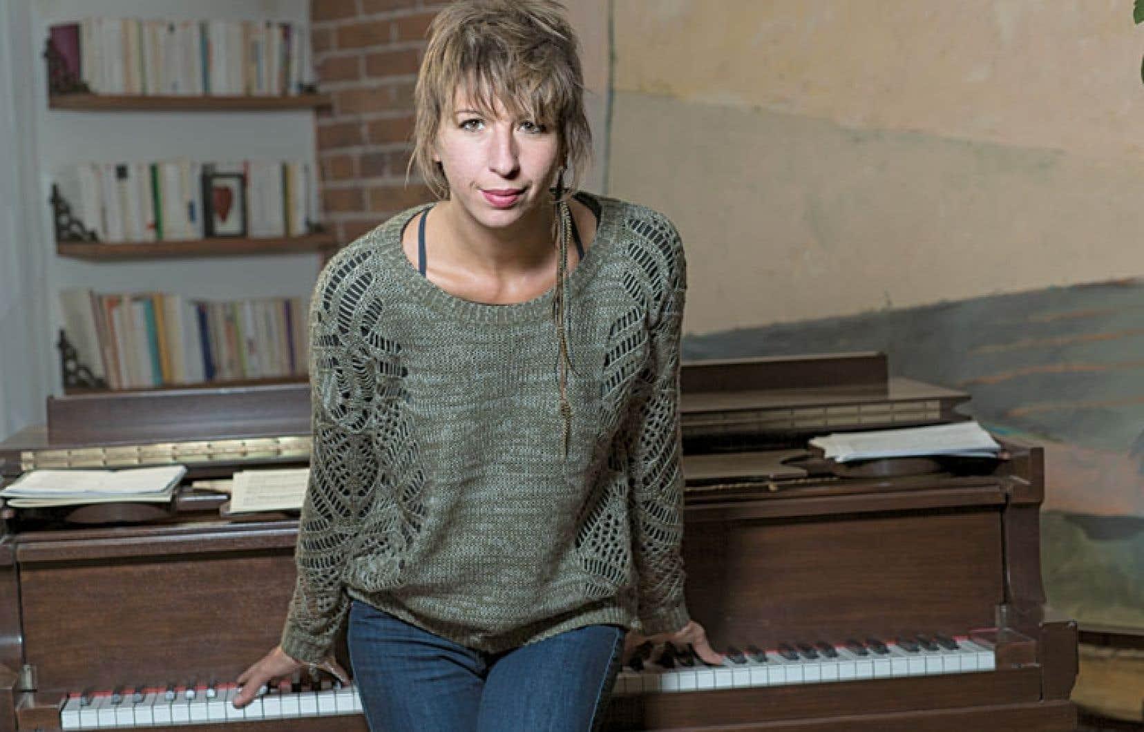 Catherine Major sera seule sur scène avec son piano, jeudi, au Club Soda.
